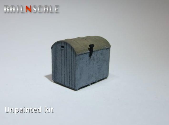 Einheitskaue DRG (N 1:160) 3d printed