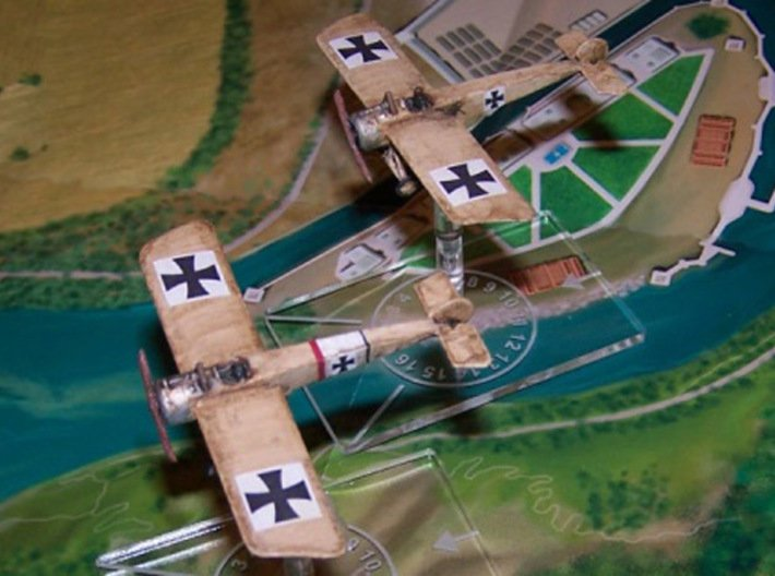 Fokker E.III (various scales) 3d printed Photo courtesy Shadowcat at wingsofwar.org