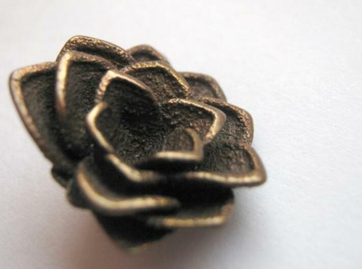 Lotus || Flower Earring 3d printed