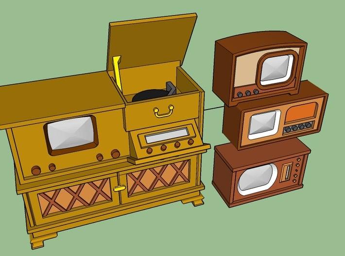 1949 TV's 3d printed