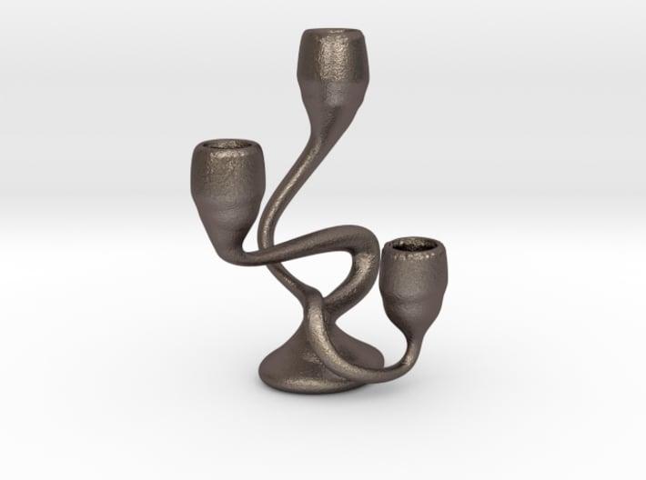 "Tripla Candelabra - Taper (1/2"") Candle 3d printed"