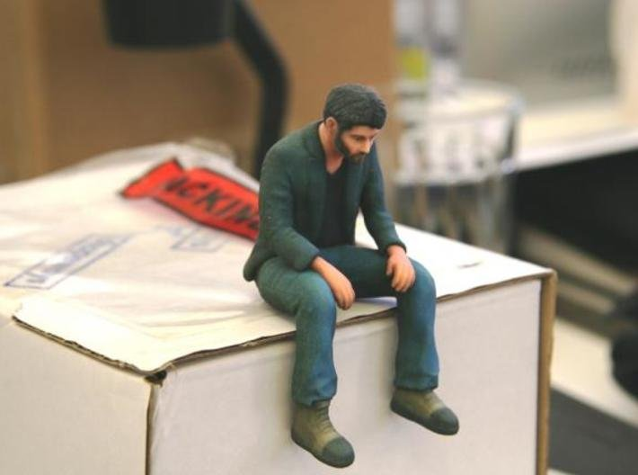 A Little Sad Keanu Reeves 3d printed