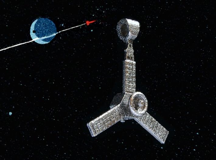 Juno Spacecraft Pendant 3d printed