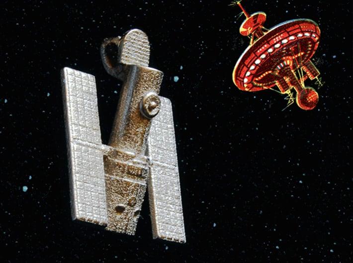 Hubble Space Telescope Pendant 3d printed