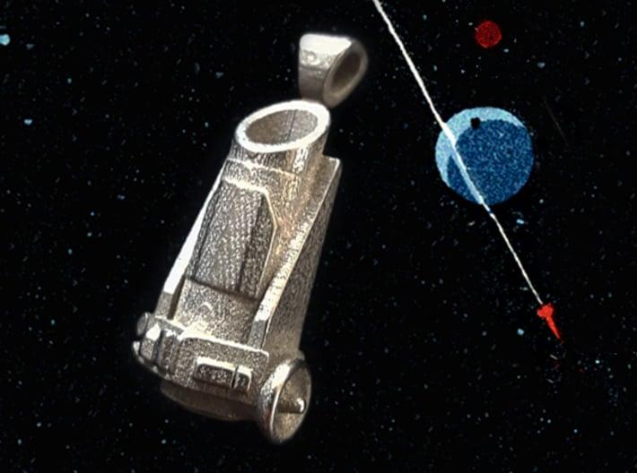 Kepler Telescope Pendant 3d printed