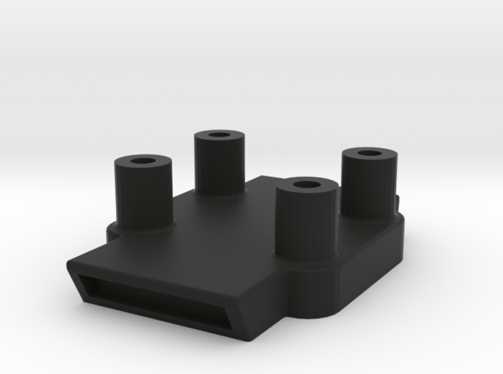 TomTom Adapter with Distance Tubes for BMW Cradle 3d printed