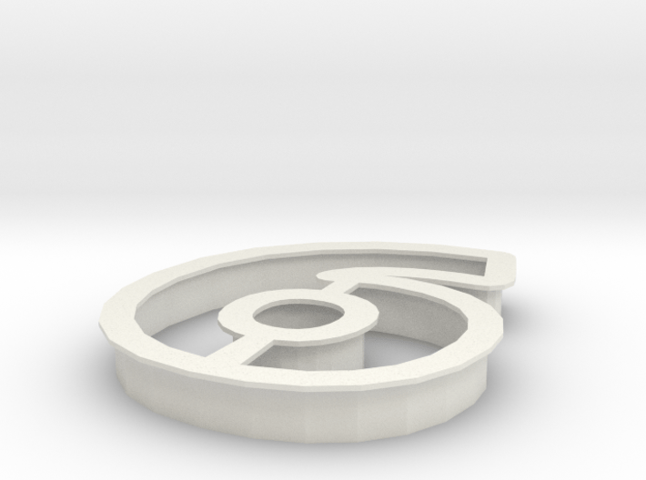 6! Cookie cutter 3d printed