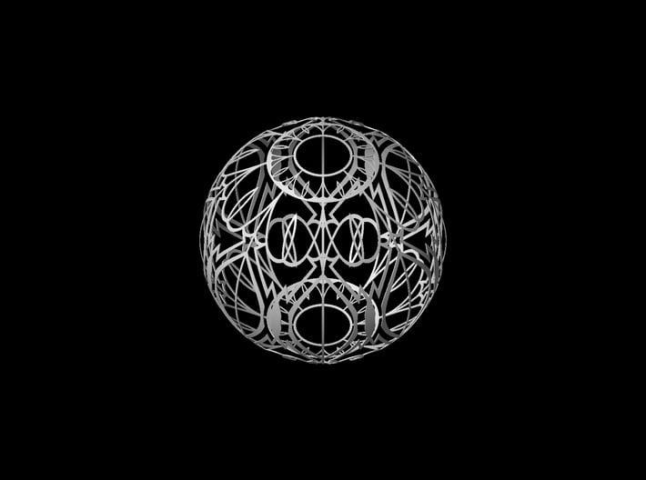 Lampshade (Designer Sphere 2) 3d printed