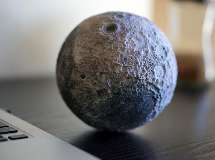 The Moon 3d printed