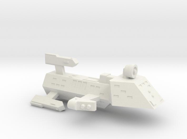 3788 Scale Kzinti Heavy Frigate (FH) SRZ 3d printed