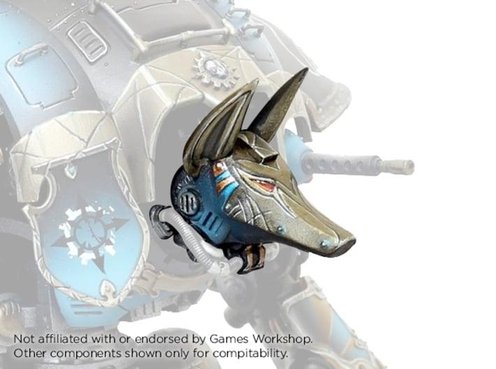 Egyptian Robot - Anubis Head 3d printed