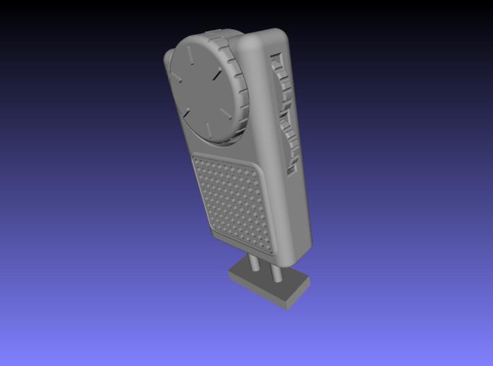 1/6 Scale Pocket Radio 3d printed