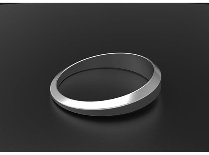 Women's Simple Life Ring 3d printed