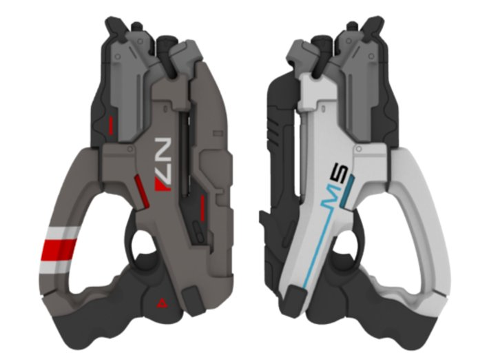 Mass Effect - 1:6 scale - N7 Eagle 3d printed