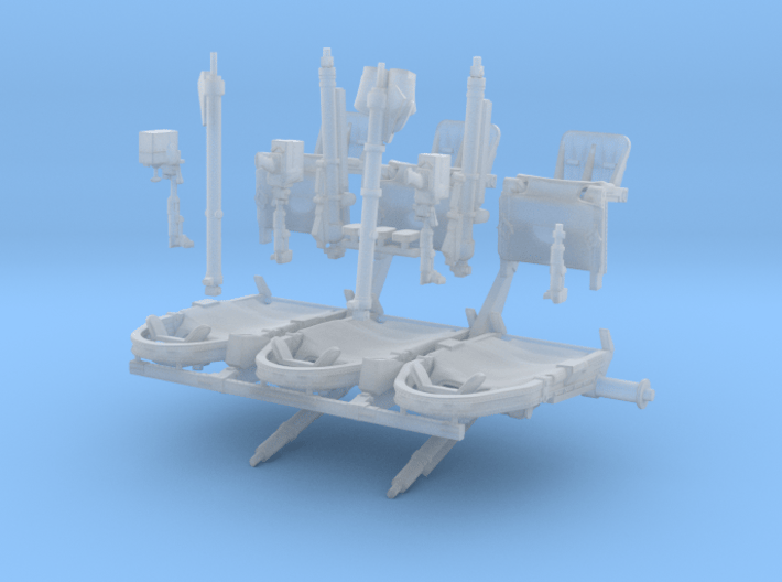 Astronaut Couches 3d printed