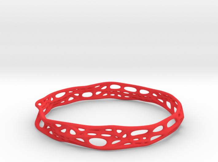 Voronoi Dodecagonal Bracelet 10mm (001) 3d printed