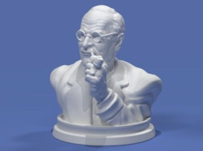 Carl Jung Bust 50mm 3d printed