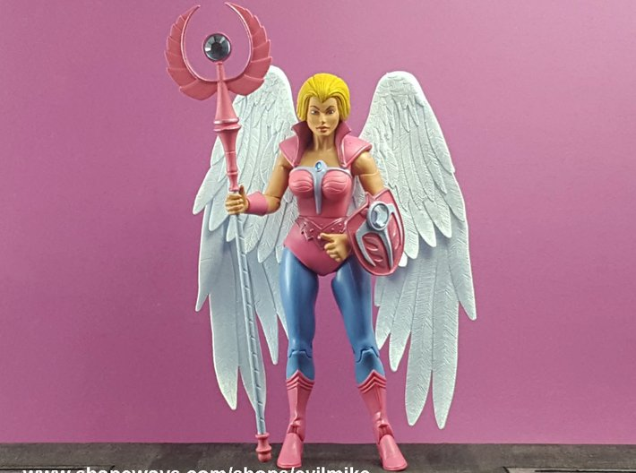 Angel Staff 3d printed
