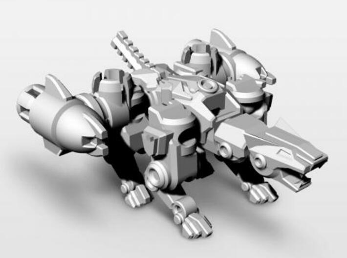 Purrdator 3d printed feline mode.