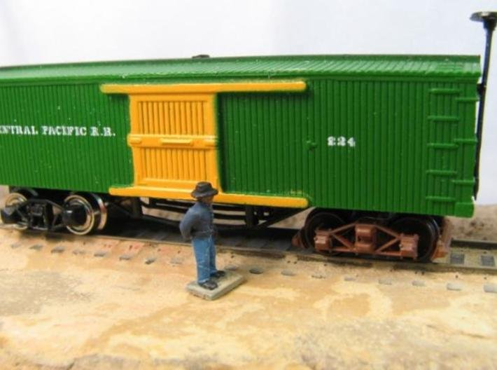 "T70s x16 N archbar truck, Cleveland Diamond 58""wb, 3d printed"
