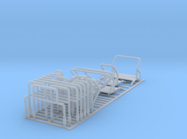 1/64 C850 Railings 3d printed