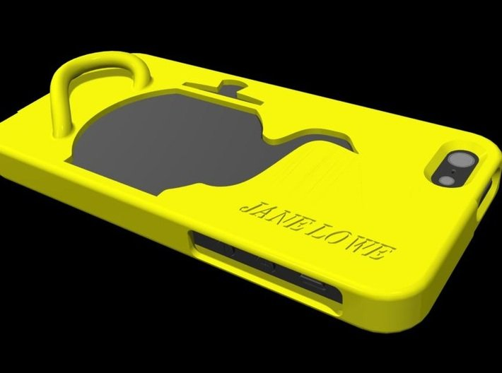 iPhone Case: Teapot Theme with handle 3d printed