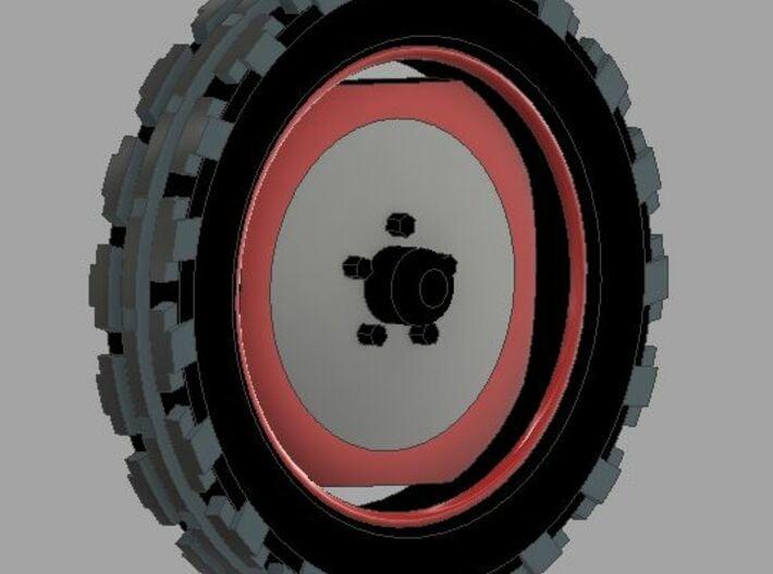 Traktor Reifen 3d printed 5,00-16 AS