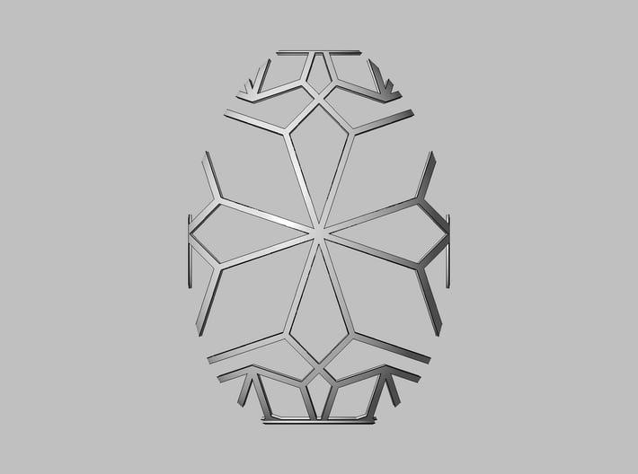 Lampshade Geometrical 3d printed Top View