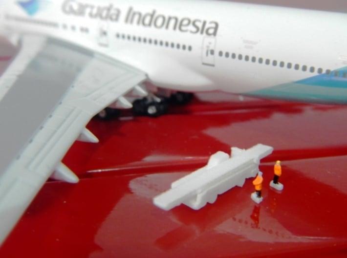 Airport Luggage Loader 1:400 4 PCS 3d printed