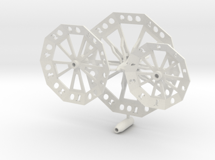 ''d1000 Spinner'' No7 3d printed