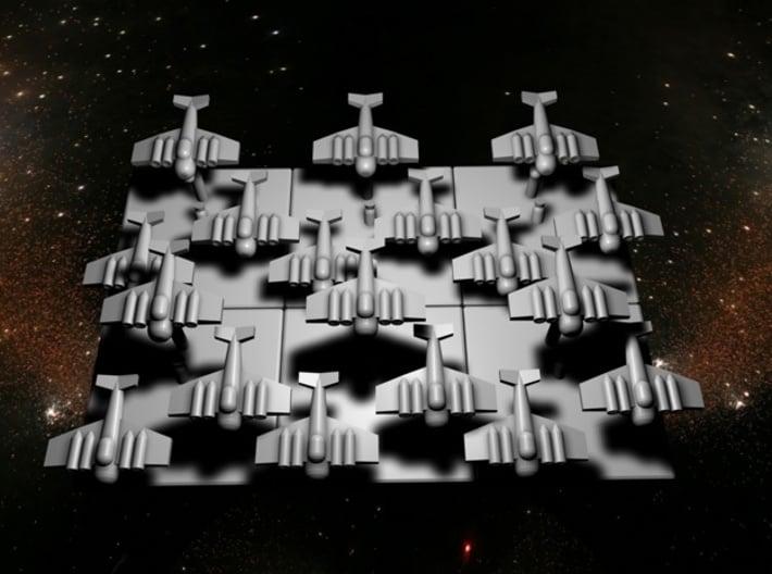 6 Bomber Marker 3d printed