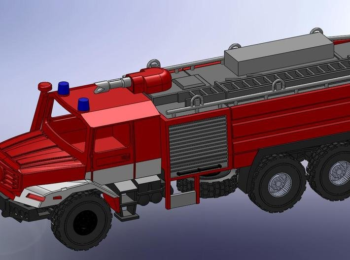 Zetros 6x6 Feuerwehr Buffalo 1:120 TT 3d printed