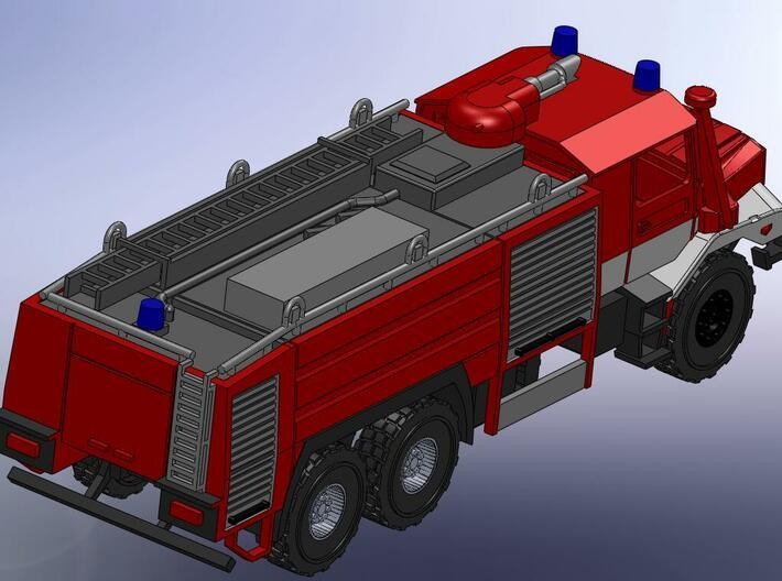 Zetros 6x6 Feuerwehr Buffalo 1:144 3d printed