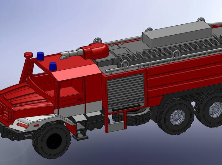 Zetros 6x6 Feuerwehr Buffalo 1:160 3d printed