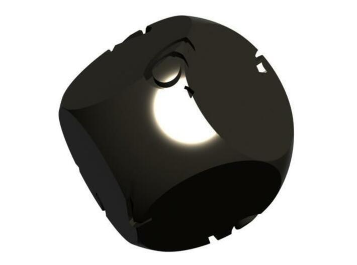 Alt D6 Sphere Dice 3d printed CG Rendering