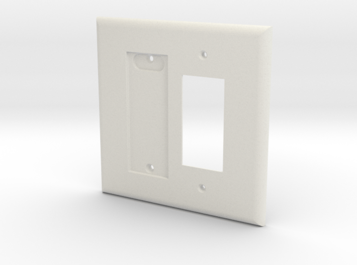 Philips Hue Dimmer Plate 2 Gang Decora Switch Plat 3d printed