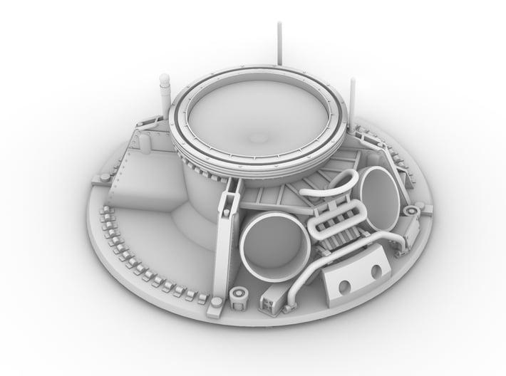 CM parachute compartment-splashdown version 3d printed