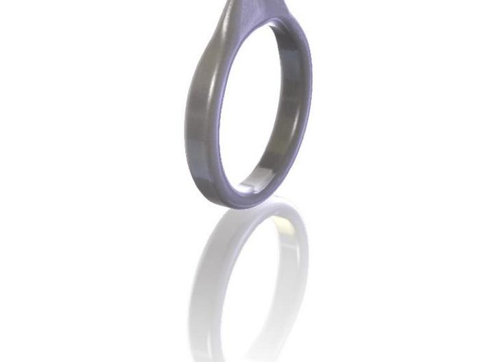 Guitar pick ring 3d printed