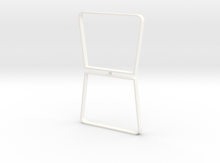 Table legs Trapeze (pair). 1:12, 1:24 3d printed