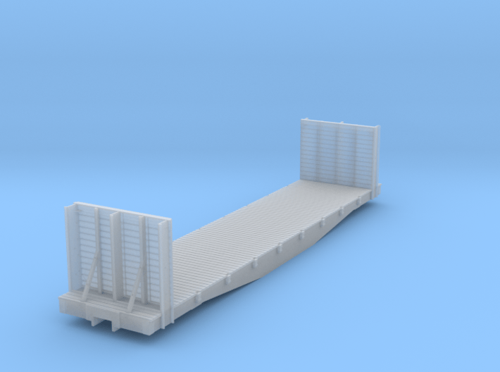 DRGW 6500 Bulkhead Flat HOn3 3d printed
