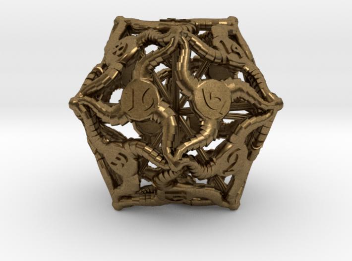 D20 Balanced - Tiefling 3d printed
