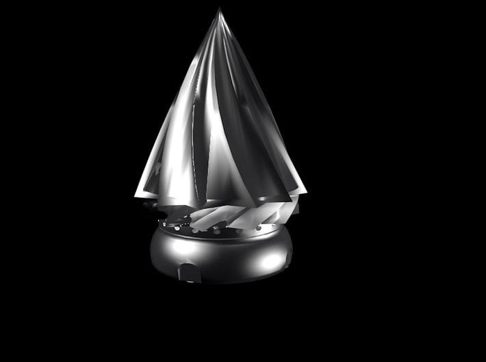 Hordakdrillattachment 3d printed Concept Render.