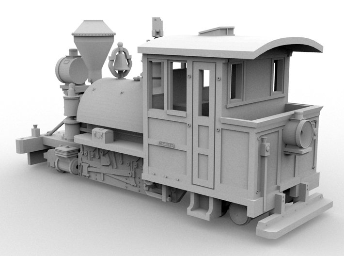 PBR Decauville #861(O/1:48 Scale) 3d printed