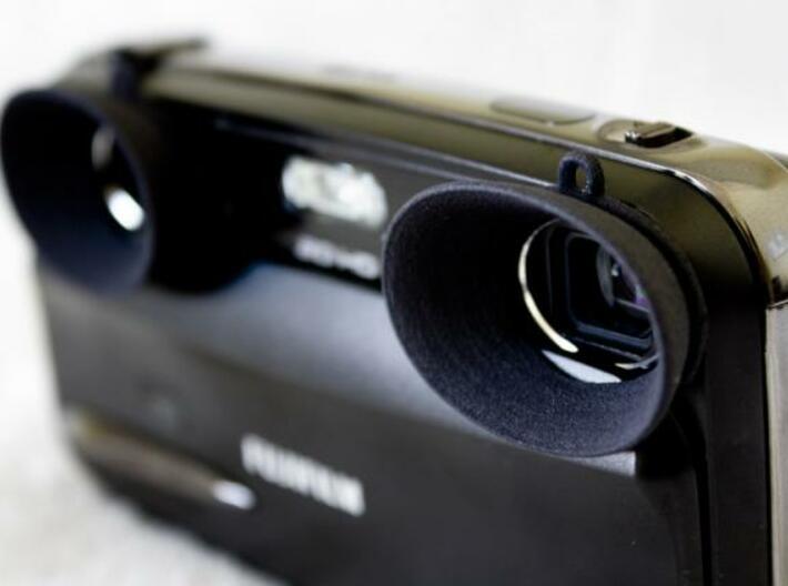 W3 Lens shades 3d printed