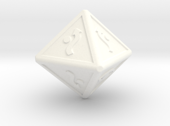 x-wing defence dice 3d printed