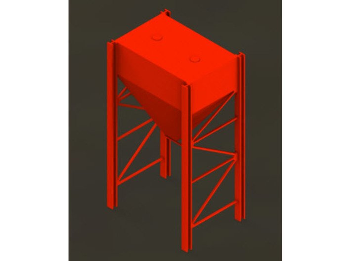 1/64 (S) scale Dust Collector Frame 3d printed