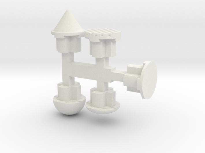"5mm Port ""Plugs"" 3d printed"