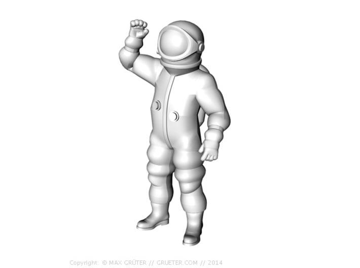 Generic Astronauts Set / 1:72 3d printed Salutposition