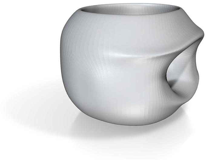 The Self-Inversion Mug 3d printed
