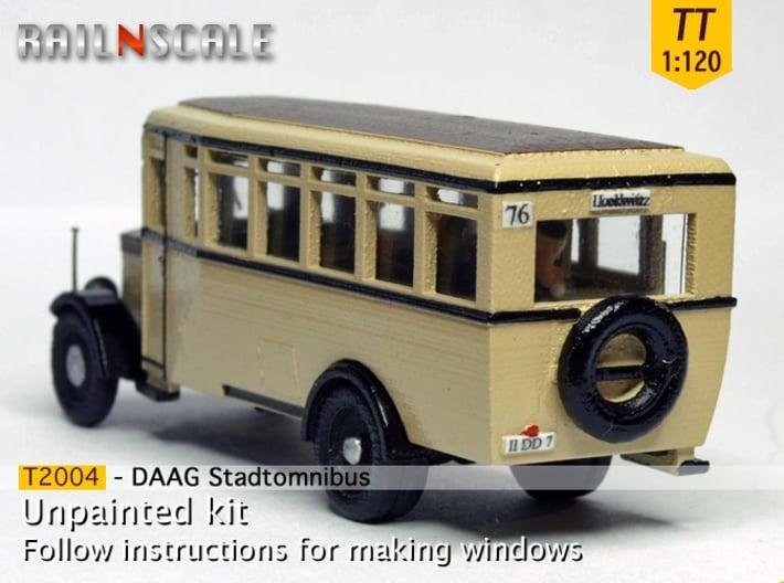 Stadtomnibus (TT 1:120) 3d printed